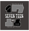 New york city typography design for t-shirtnew yor