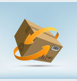 parcels mail vector image vector image