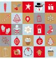 set doodle elements christmas vector image vector image