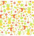 Tropical luau seamless pattern background