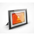 photo frame 3d icon vector image