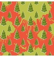 abstract with Christmas tree pattern on a blots vector image
