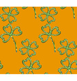 Clover Pattern3 vector image vector image