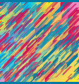 colorful geometric tech abstract background vector image vector image