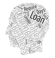 Commercial Loans How Long Should They Take text vector image vector image