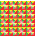 Retro seamless colorful pattern vector image