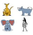 characters carnivores vector image