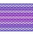 Purple knitted Scandinavian ornament seamless vector image