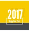 2017 Happy new year vector image vector image