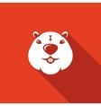 Beaver head icon vector image vector image