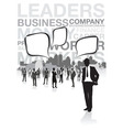 business people vector image vector image