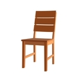 chair seat armchair stool vector image vector image