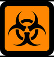 european hazard pictogram vector image vector image