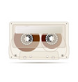 realistic detailed audio cassette made from vector image