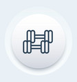 workout icon pictogram vector image vector image