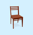 chair wood classic detailed single object vector image