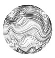 abstract sonic wave ball motion chaos wavy vector image