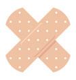 adhesive bandage icon vector image