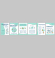 babysitting service brochure template layout vector image vector image