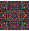 Damask festive abstract seamless pattern vector image vector image