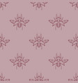 pastel seamless stag beetles pattern background vector image vector image