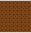 pattern brown vector image vector image