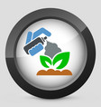 plant care vector image