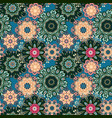 seamless pattern texture indian arabic turkish vector image