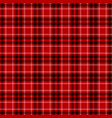 tartan plaid seamless pattern vector image vector image