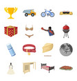 Transportation mine space and other web icon in vector image