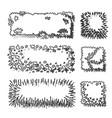 tree top vector image vector image