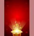 valentines festive background image vector image
