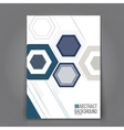 Abstract Background Geometric Shapes and Frames vector image