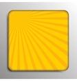 background Solar yellow rays Eps 10 vector image