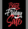 Black friday of the sale