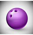 Bowling Ball vector image