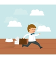 Business entrepreneur vector image vector image