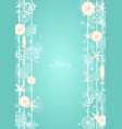 christmas sea mobile hanging for decoration vector image