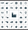 economy icons universal set for web and ui vector image