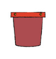 pail vector image vector image