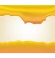 yogurt or cream splashing vector image vector image