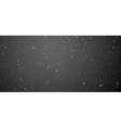 Banner with water drops vector image vector image