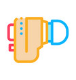 Hearing aid icon outline