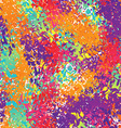 Holi seamless pattern Ornament of bright colored vector image vector image