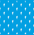 hot chili pepper pattern seamless blue vector image