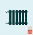 radiator icon heating with adjuster