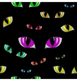 Cat Eye Seamless Texture vector image