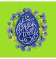 Easter Lettering vector image