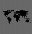 Line world map