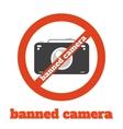 No camera vector image vector image